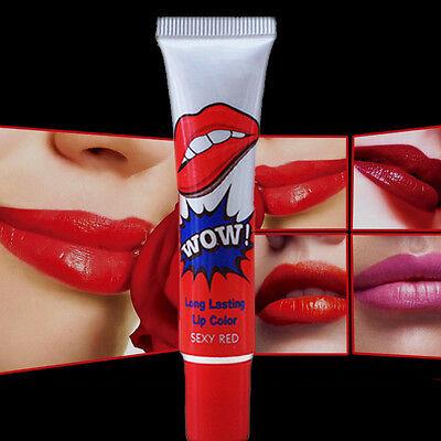DIY Waterproof Peel Off Mask Tint Pack TATTOO Lip Gloss Long Lasting Lipstick