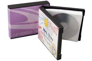 Image is loading 5-CD-DVD-Unikeep-Binder-holds-5-Discs-