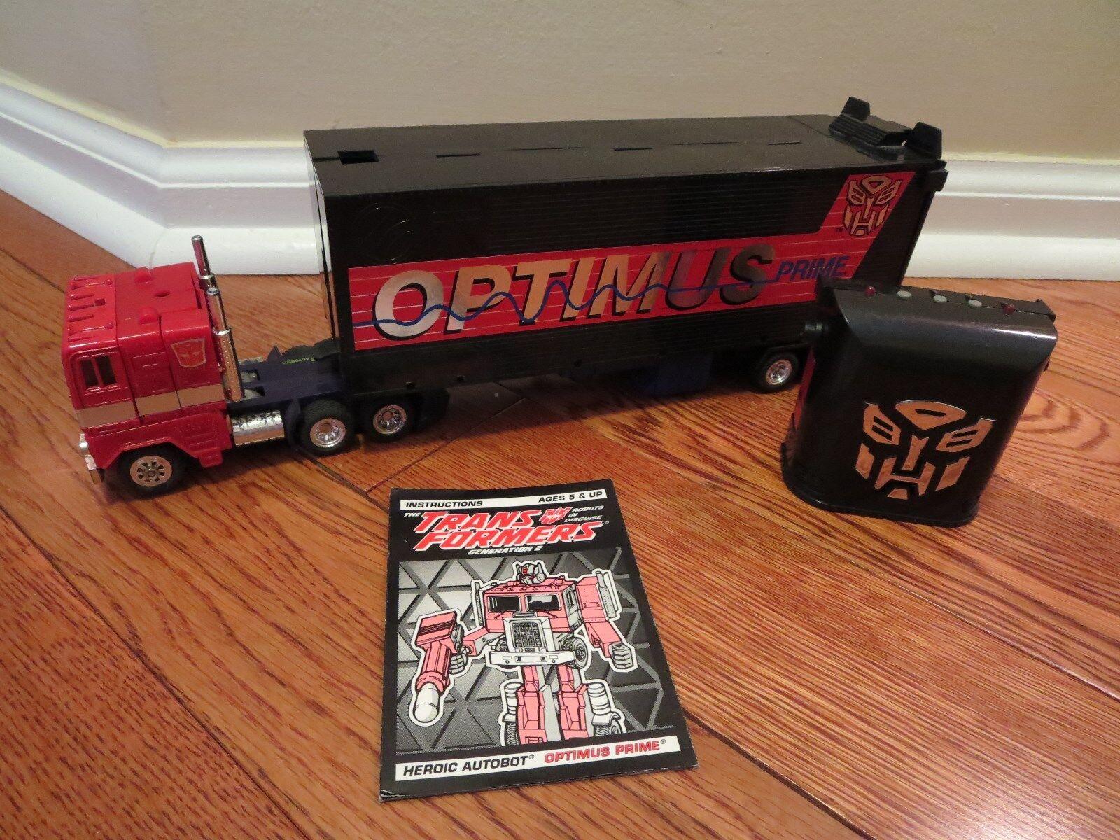 Transformers G2 Vintage Autobot Optimus Prime Loose FREE SHIP US