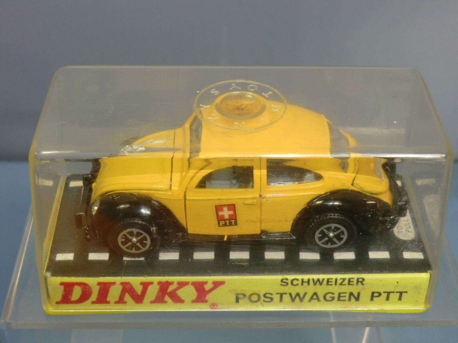 DINKY TOYS TOYS TOYS  promozionale  modello No.262 V W (tavola) Postwagen PTT VN Nuovo di zecca con scatola 46e253
