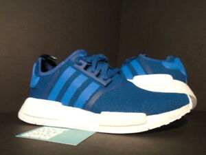 895be9637142 2016 ADIDAS NMD R1 TECSTE UNIVERSITY BLUE WHITE BOOST S31502 NEW 10 ...