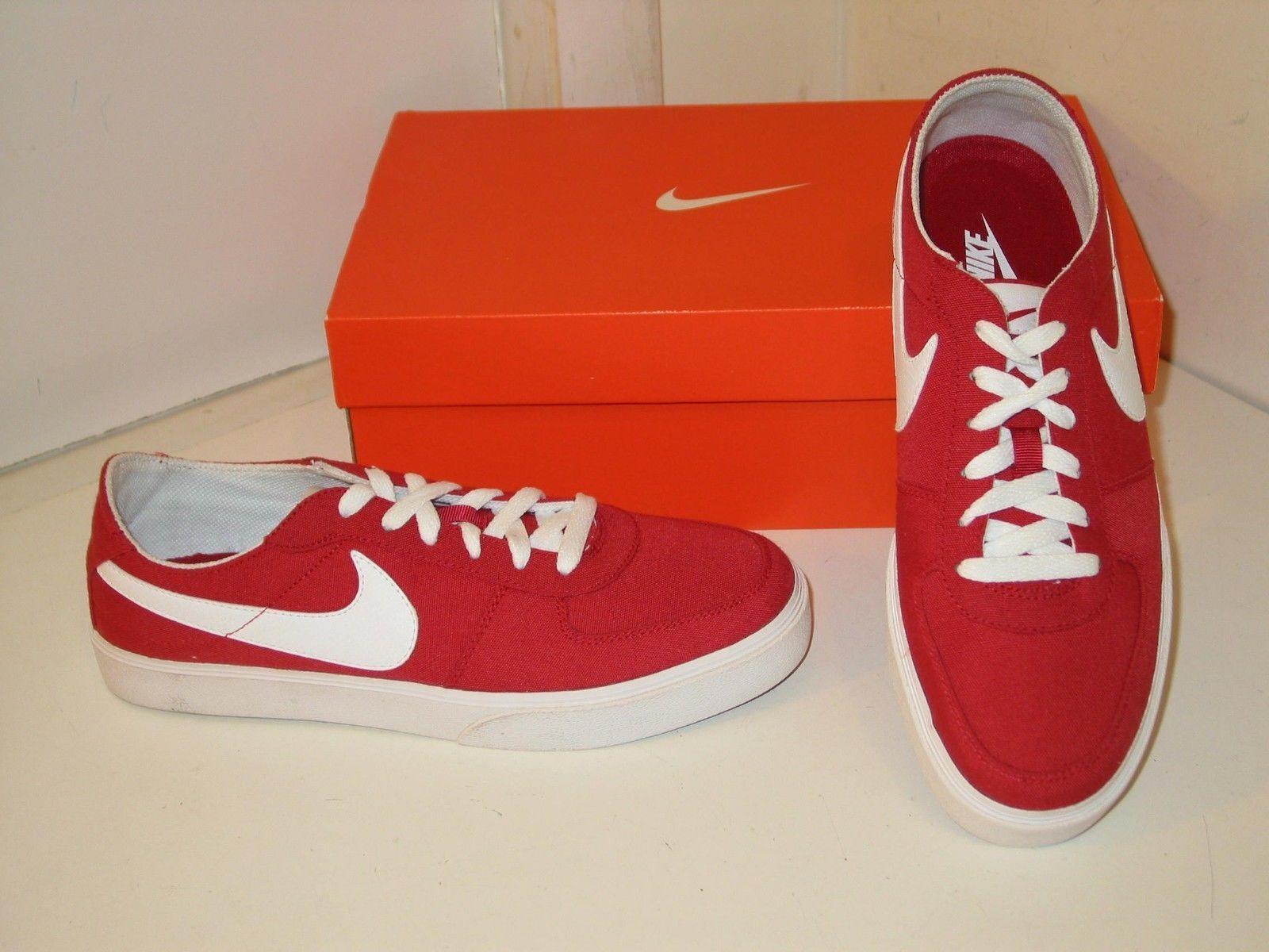 Nike Mavrk LR 6.0 Varsity Red Canvas Skateboard Casual Low  Shoes Uomo 9