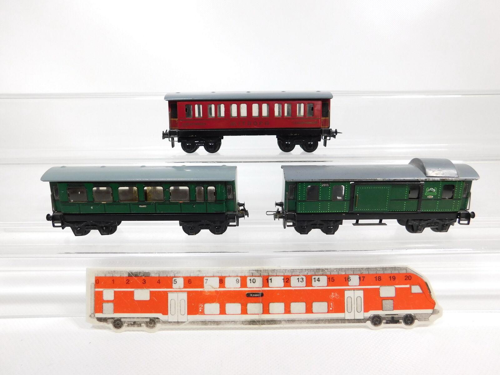 CG470,5  3x trix Express H0Dc Tin  Dare  20151 Posta 20152 20154 Mitropa