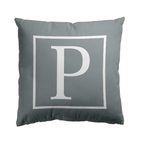 26 English Alphabet Lettres Imprimé Throw Pillow Case Sofa Taille Housse de coussin