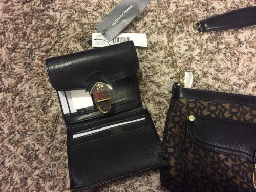 bijpassende portemonnee handtas Authentieke met Dkny Rj35qAL4c