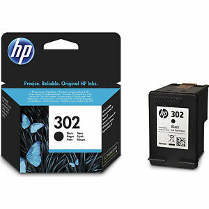 New-Genuine-HP-302-Black-Ink-Cartridge-for-Deskjet-1110-2130-3630-F6U66AE
