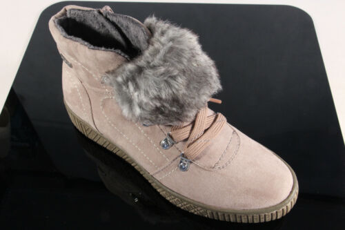 Jana-Tex Damen Stiefelette Stiefel Boots Winterstiefel rose NEU