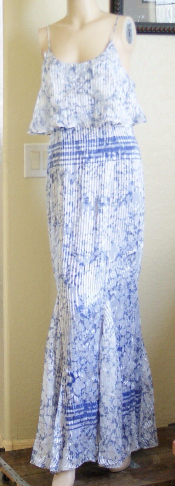 Charlie Jade Silk Maxi Dress (Size S)