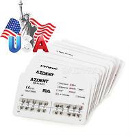 Usa 50x Dental Orthodontic Metal Brackets Brace For Orthodontic Dental Treatment