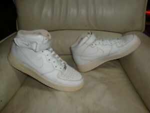 Détails sur Nike Air Force One AF1 Used Sneakers taille 45 Occasion US 11 UK 10