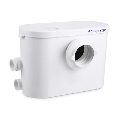Macerator Waste Pump Aquamatix Silencio Quiet Sanitary  With Carbon Filter 400W