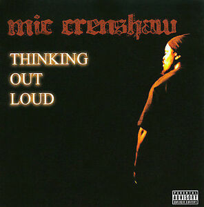 thinking out loud pa by mic crenshaw cd oct 2013 focused
