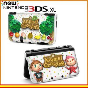 Funda-Protector-Nintendo-New-3DS-XL-Carcasa-Dibujos-Animal-Crossing
