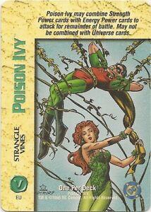 OVERPOWER-Poison-Ivy-Strangle-Vines-OPD-DC-Very-Rare-Batman-Superman