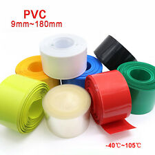 Pvc Heat Shrink Tubing Wrap Rc Battery Pack 9mm 180mm Flat Size 8 Color Optional