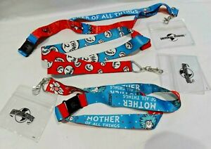 UNIVERSAL-STUDIOS-LANYARDS-DR-SEUSS-MOTHER-TEACHER-THING-1-amp-2