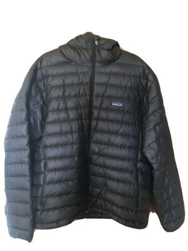 Patagonia Men's Down Sweater Hoody L Black