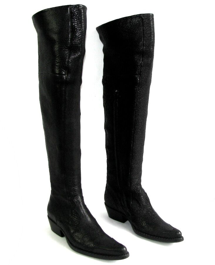 FREE LANCE Boots leggings cowboy boots alma 4 all leather black 36 MINT