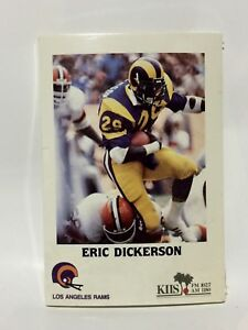 1985-Los-Angeles-Rams-NFL-Football-15-card-Team-Police-Set