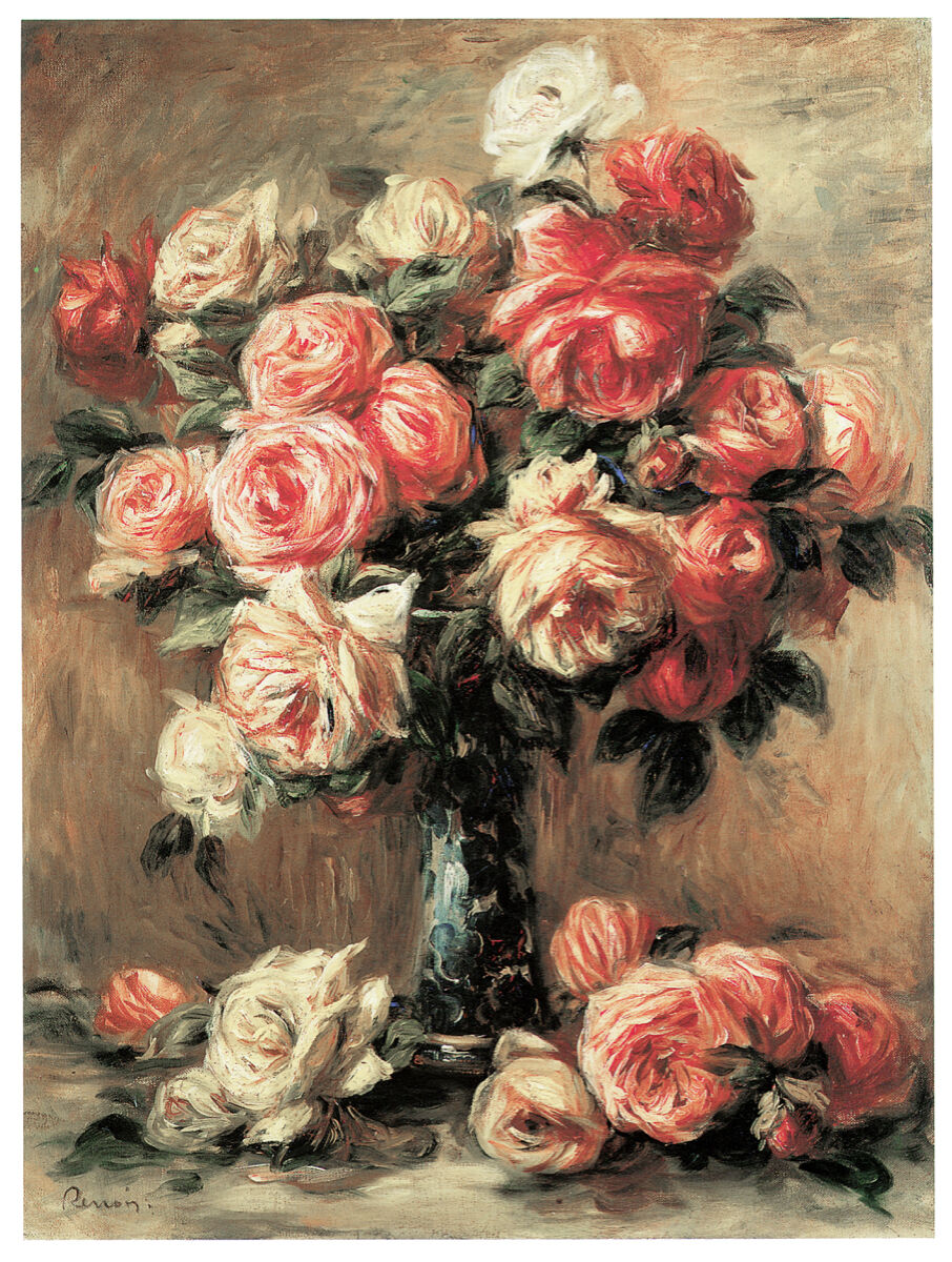 16x20 Decoration CANVAS.Interior room design art.Flower vase painting.6657