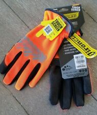 New Ironclad Command Utility Touch Screen Work Gloves Orange Small Free Ship