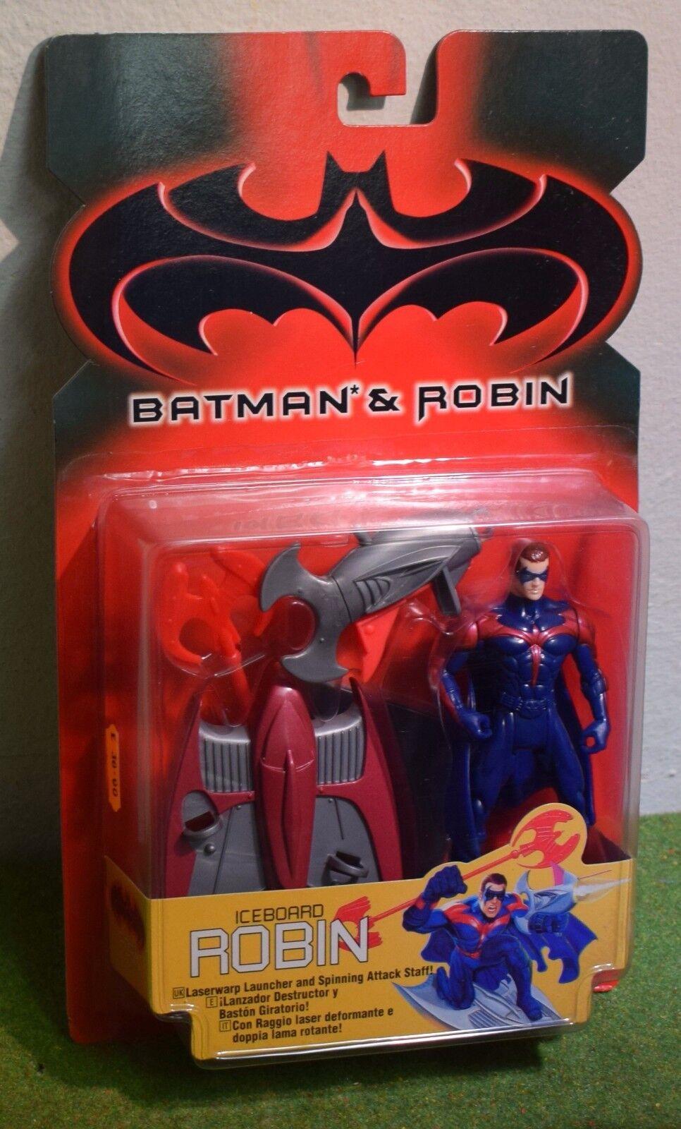 KENNER BATMAN & ROBIN ICEBOARD ROBIN ACTION FIGURE