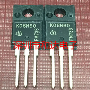 10 x K06N60 Transistor TO-220F