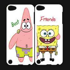 Best Friends Sponge Bob Funny Pattern For ipod Touch 5 5th Case Cover Two Cases