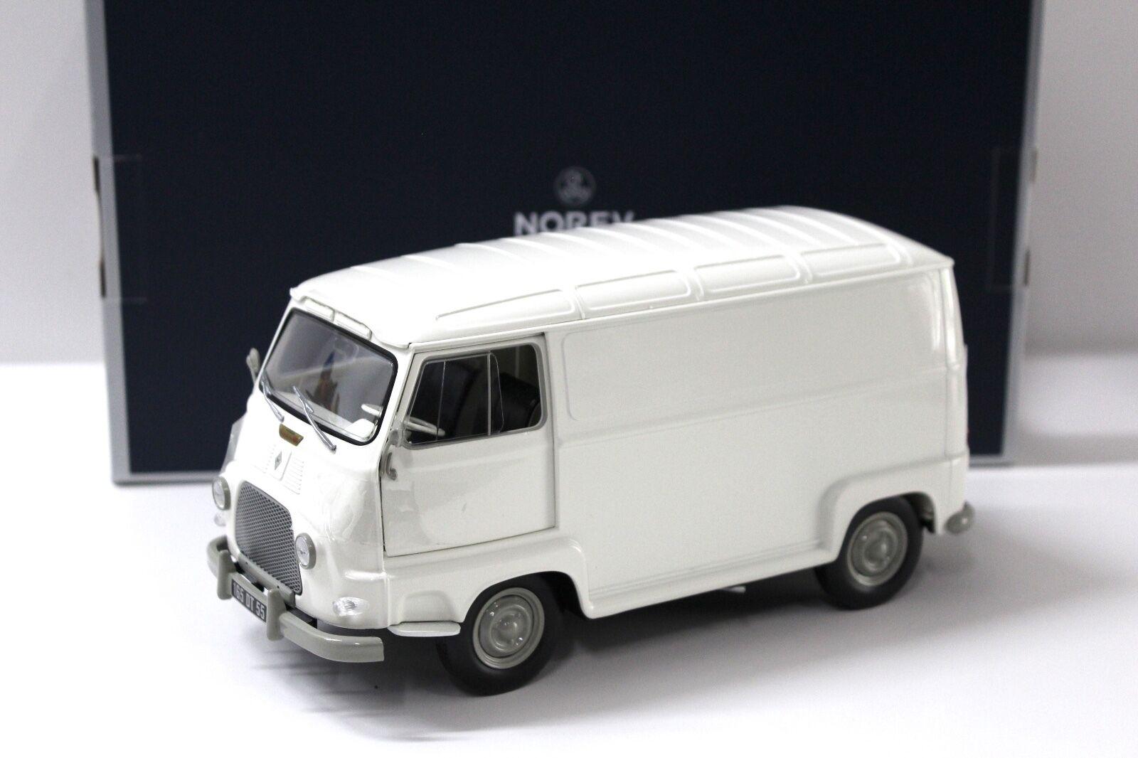 1 18 Norev Renault Estafette Van 1965 Beige New chez Premium-modelcars