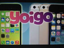 Liberar IPHONE YOIGO ESPAÑA! DESBLOQUEAR ALL IMEIS! 100% SEGURO!! EXPRESS