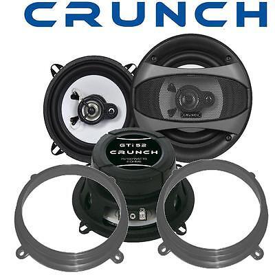 Adapterringe Autoelektronik, Gps & Sicherheitstechnik Sonderabschnitt Crunch Gti52 Lautsprecher 13cm & Adapterringe Für Fiat Marea Seite-heck