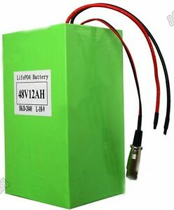 Lifepo4-48V12AH-battery-pack-for-1000w-motor-BMS-included-Air-Shipping