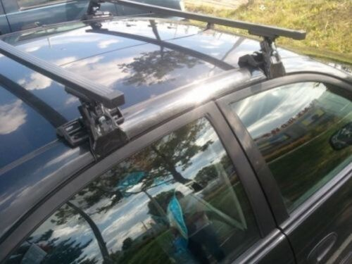 91-98 Paar MERCEDES S-KLASSE W140 Limousine Dachträger D-1 140cm