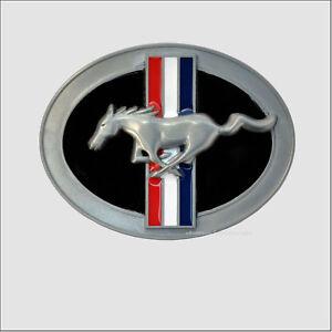 Licensed FORD MUSTANG Belt Buckle Pony Logo Emblem Lizenz Gürtelschnalle *139