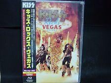 KISS Rocks Vegas JAPAN BLU-RAY + 2CD Wicked Lester Badlands Black 'N' Blue ESP