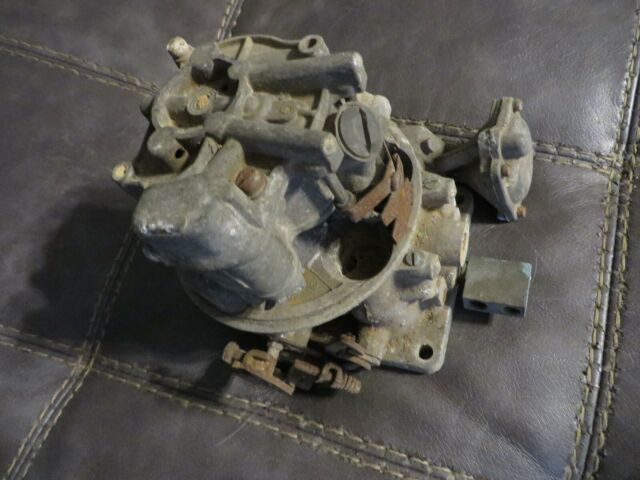 "1956 Ford Thunderbird 292 Holley ""teapot"" type Carburetor"