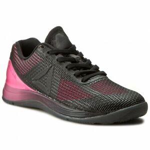 Reebok Women S Crossfit Nano 7 0 Fitness Shoes Black Pink Bd5119 New 9 5 Ebay