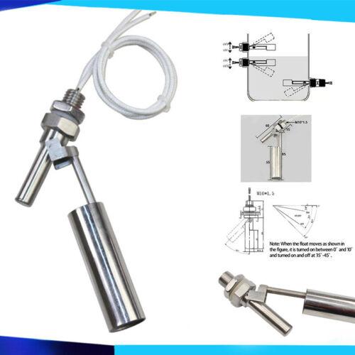 Wasser Schwimmerschalter Füllstandsschalter Pegelschalter  M10 0-220V