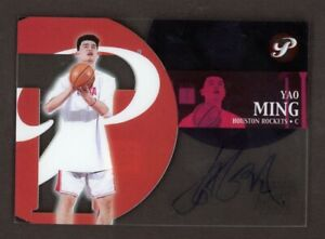 2002-03 Topps Pristine Yao Ming RC Rookie Signed Certified AUTO Rockets HOF