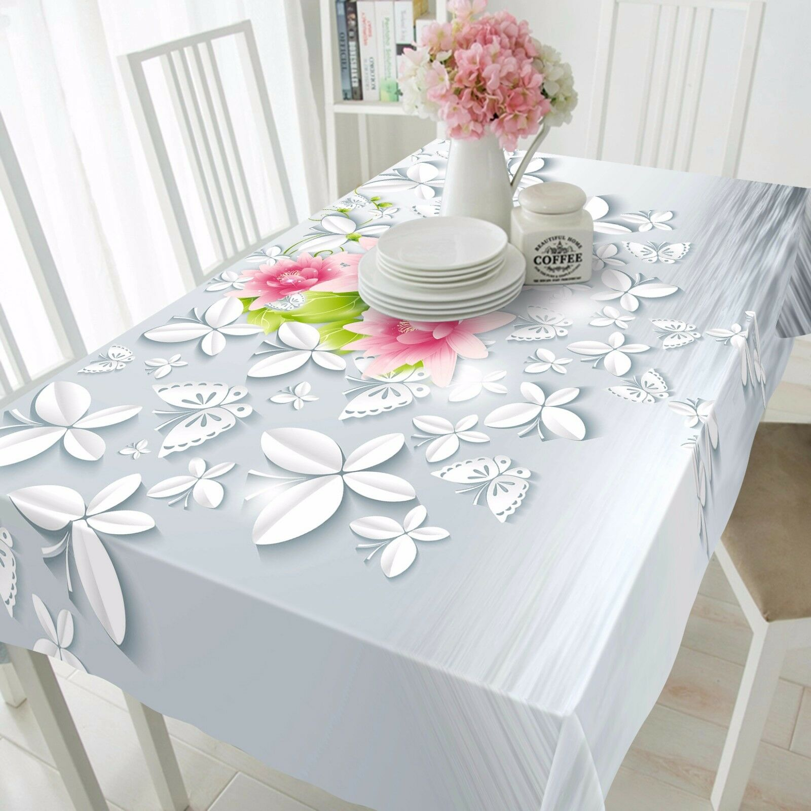 3D Flower 4436 Tablecloth Table Cover Cloth Birthday Party Event AJ WALLPAPER AU