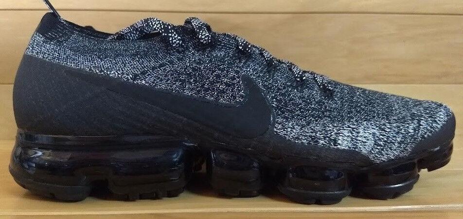 Nike Air Vapormax Flyknit Size 13 Oreo 2.0 Black White Racer bluee 849558-041