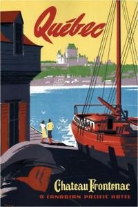 Quebec-Chateau-Frontenac-Vintage-Travel-Art-Print-Poster-24x36-inch