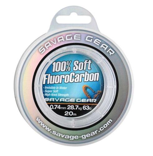 Savage Gear 100/% Soft Fluorocarbon