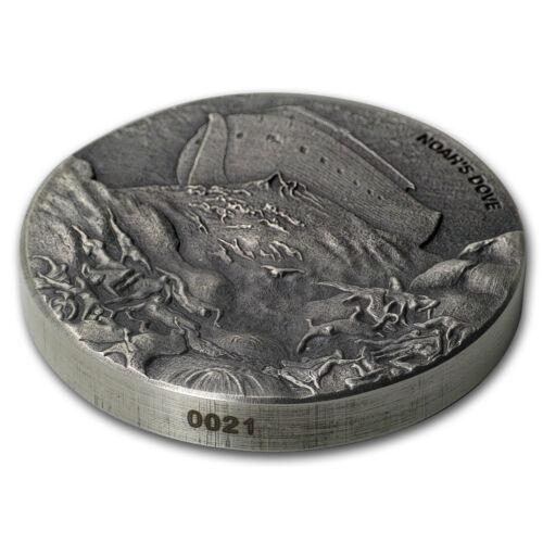 Biblical Series 2018 2 oz Silver Coin - SKU#160184 Noah/'s Dove