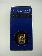 "ANDY WARHOL ""COW"" C.1971 ACME STUDIOS QUARTZ JAPAN WATCH BOX"