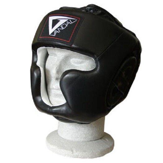 Kopfschutz VANDAL Leder mit Jochbein- und und und Kinnschutz - CE 7120cf