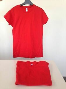 lace up in attractive designs top fashion Details about NEW 2X WOMENS RED GILDAN RING SPUN SIZE LARGE T SHIRT BULK LOT