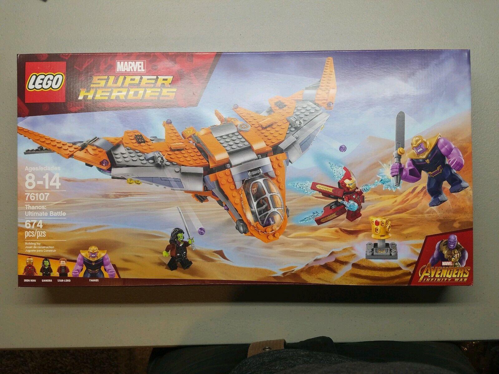Lego Marvel Super Heroes 2018 Thanos  Ultimate Battle (76107)