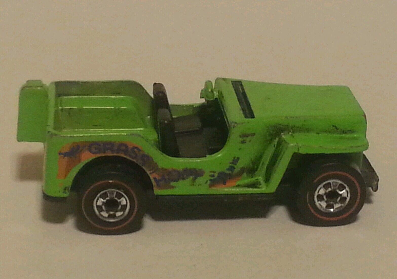 heiß Wheels rotline Grasshopper - Rare No Engine Version