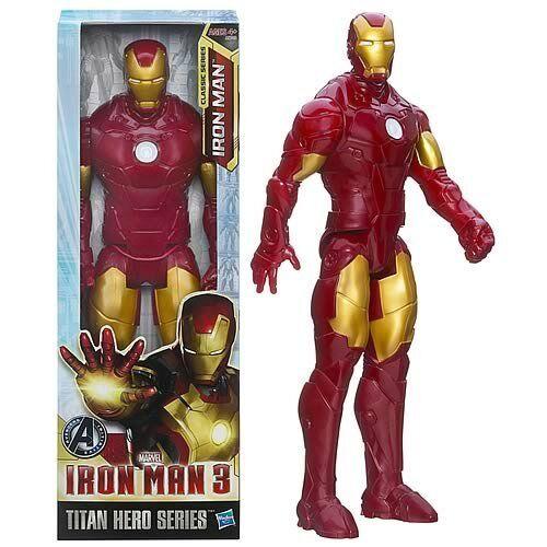 HASBRO MARVEL IRON MAN 3 MOVIE TITAN HERO SERIES 30CM   12  ACTION FIGURE